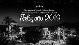 Feliz año 2019 de parte del equipo de Yeguada Lagloria