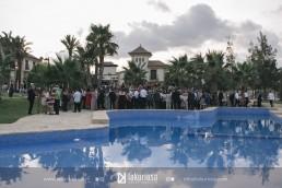 Piscina y jardin de finca para bodas en Alicante