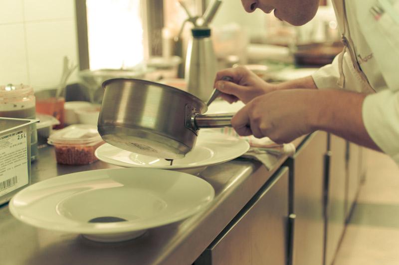 Cocinas propias en nuestra finca para bodas en Alicante