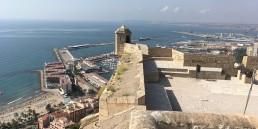 Paisaje de Alicante desde el Castillo de Santa Bárbara