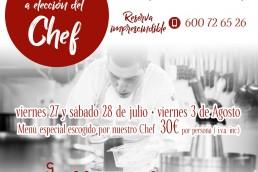 Cenas del Chef