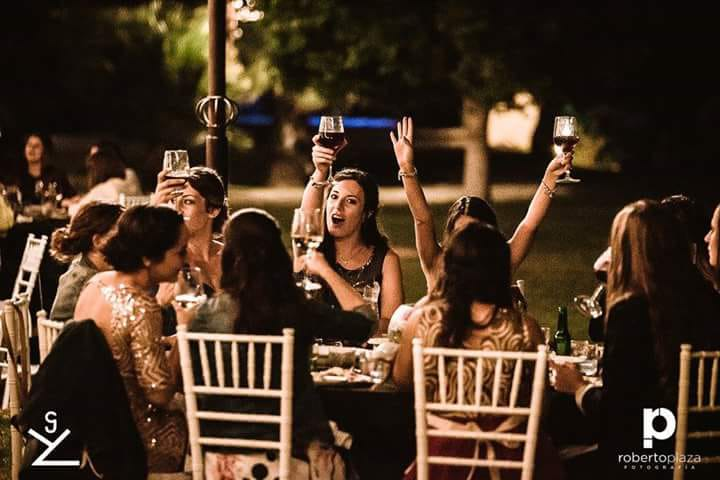 Celebración de boda en Yeguada Lagloria