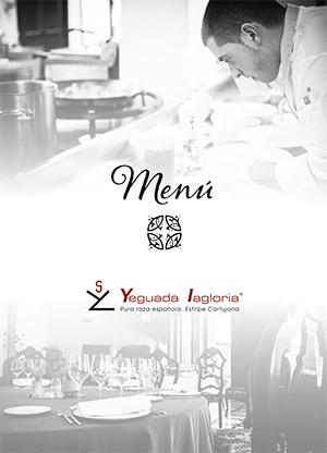 Para descargar menú de bodas en Finca Yeguada Lagloria
