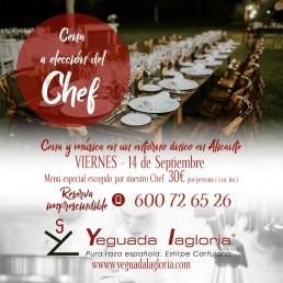 Cenas en Yeguada Lagloria