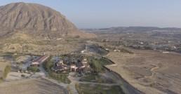 Imagen aerea de la finca Yeguada Lagloria-Bodas y eventos